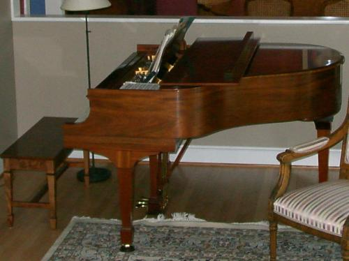 Mom's piano