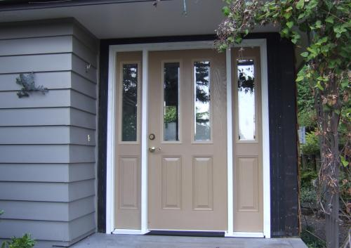 New front door in proce$$